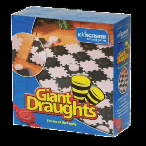 Giant Draughts GA004 Outdoor Indoor Kids Family Game